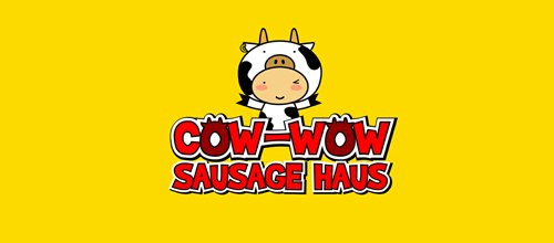 Cow-Wow Sausage Haus logo