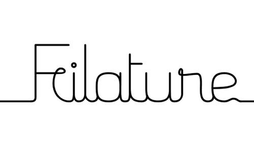 Filature font