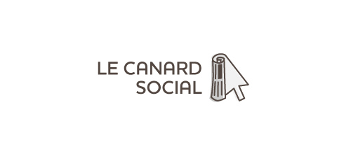 le canard social (online news site) logo