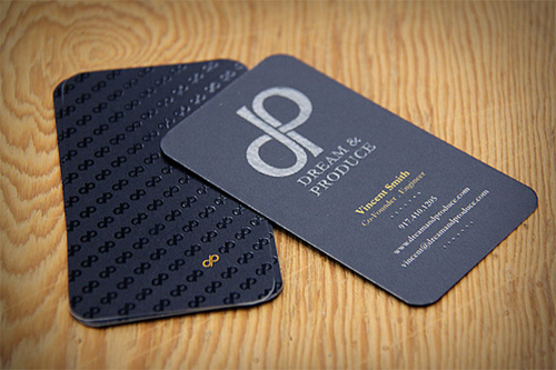 Dream & Produce Business Cards