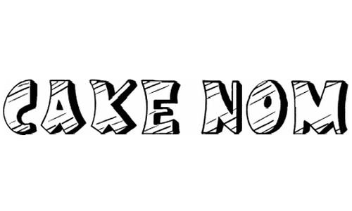 Cake Nom font