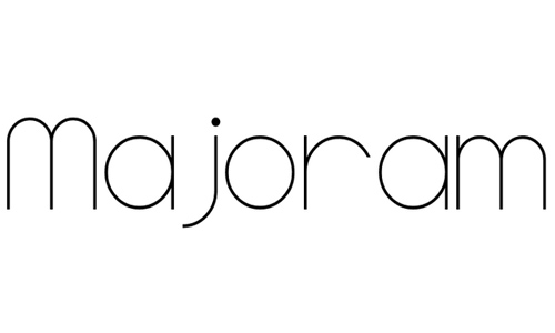Majoram Serif font