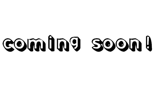 Coming Soon! font