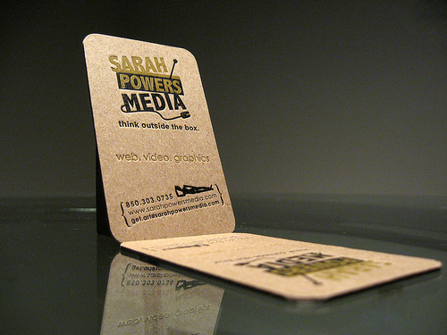 Sarah Powers Media Business Card