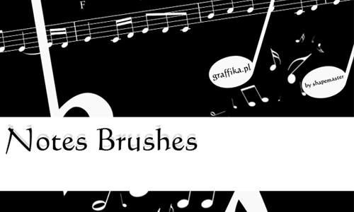 Notes Brushes
