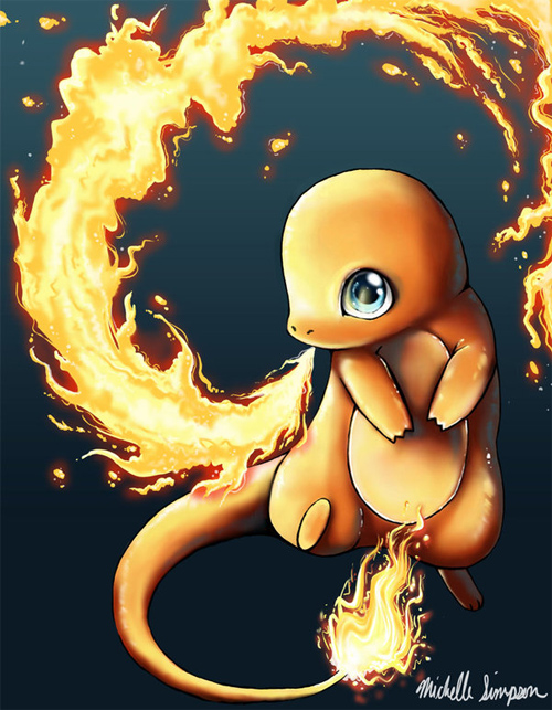 Charmander: Fire Dance