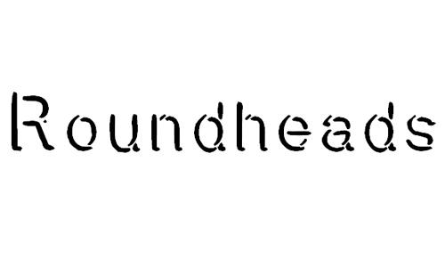Roundheads font