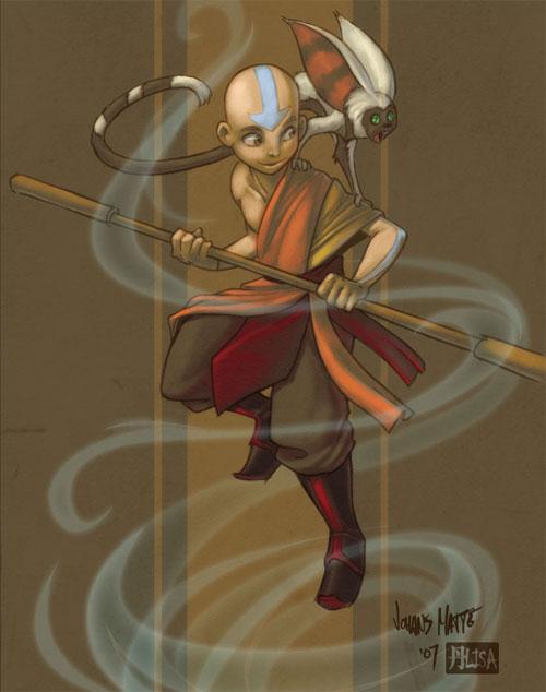Rufftoon's Aang