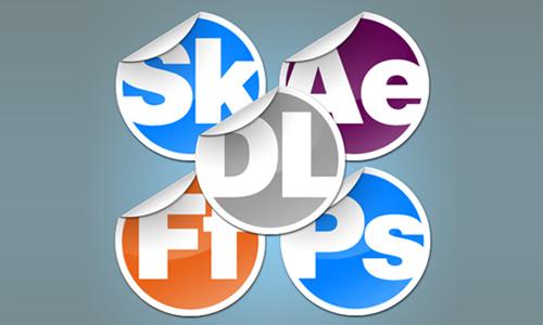 Sticker Dock Icons