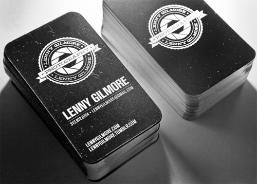 Lenny Gilmore Business Cards