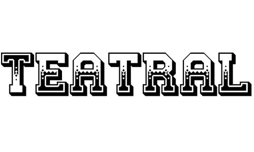 Teatral font