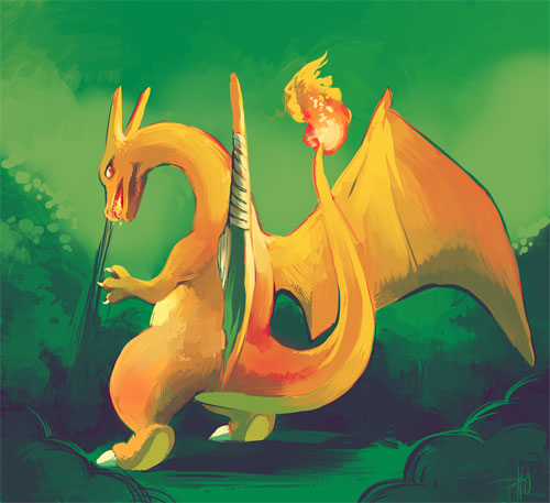 Charizard used Smoke Screen