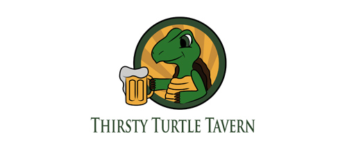 Thirsty Turtle Tavern logo