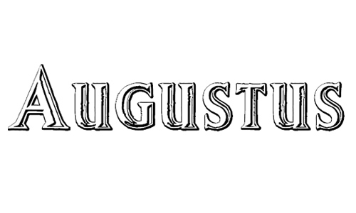 Augustus Beveled font