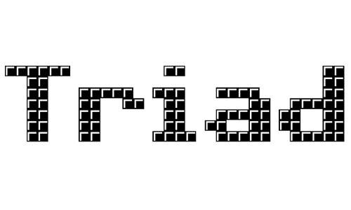 Triad XS font