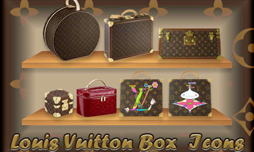 Louis Vuitton Box Icons