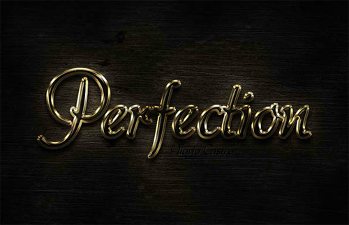 Perfect Gold Text Effect in Photoshop