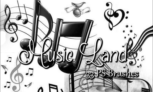 PS music brushes