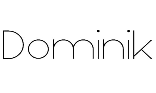 Dominik Thin font