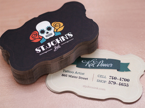 St. John's Ink Business Card