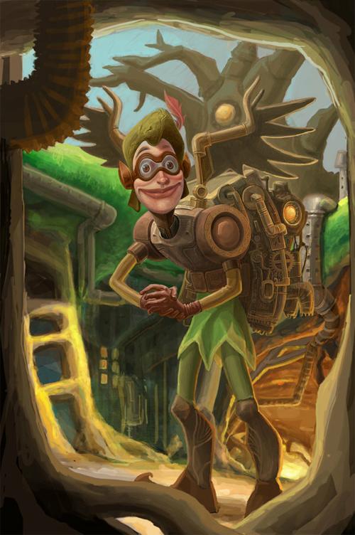 Steampunkfyfied Peter Pan