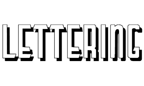 LetteringDecoShadow font
