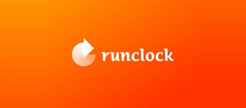 runclock logo