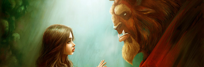 23 Beauty and the Beast Illustration Artworks