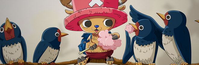 30 Chopper of One Piece Artworks