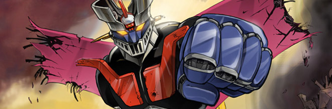 Cool Collection of Mazinger Z Artworks