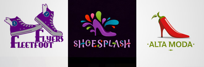35 Impressive Examples of Shoes Logo