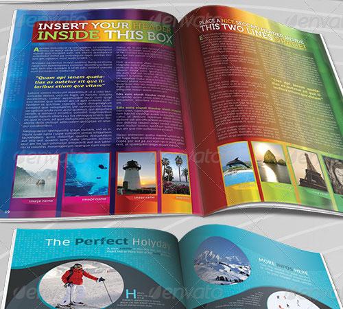 50 page magazine