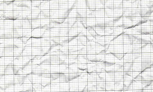 Crumpled Graph paper texture