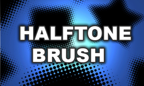 Free Photoshop Brush No.01:Halftone Brushes