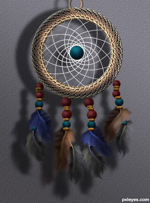 How To Create A Colorful Native American Dreamcatcher