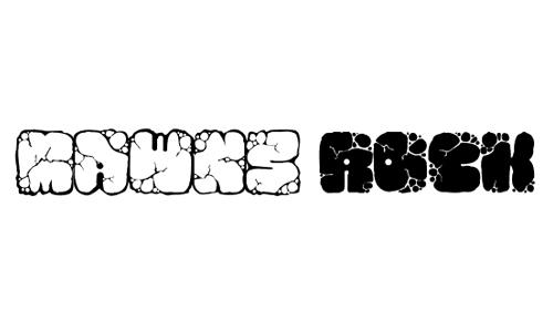Mawns Rock font