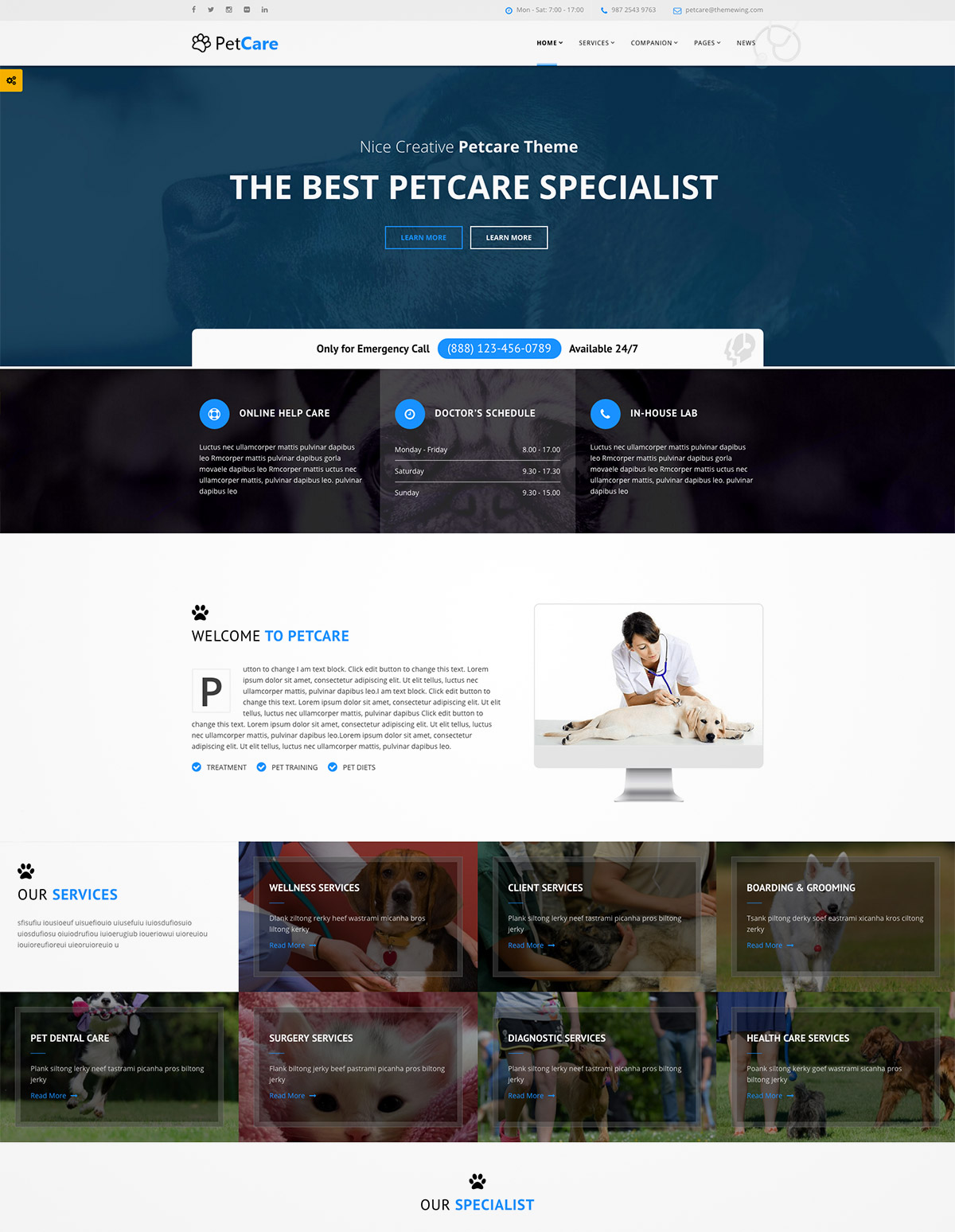 premium wordpress pets