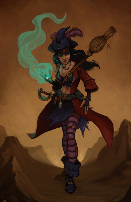 witch pirate
