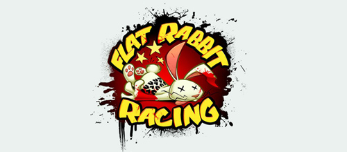 Flat Rabbit Racing Logo
