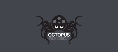 Octopus film & media logo