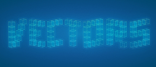 Illustrator Tutorial: 3D Cubic Text Effect