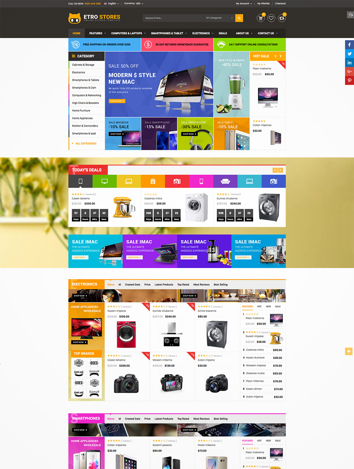 responsive multipurpose themes