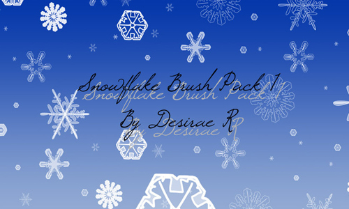 Snowflake Brush Pack 1