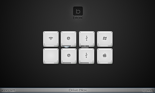 Drive Blox Icon Set