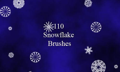 110 Snowflakes