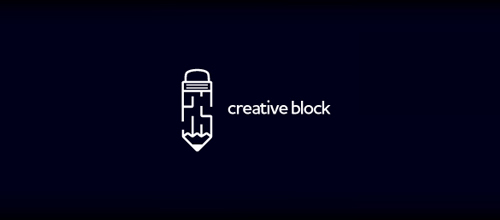 creative block logo