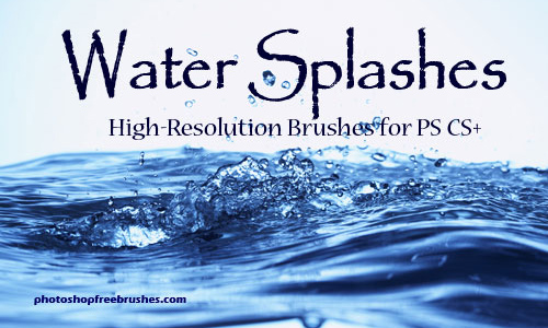 Water Splashes-PS Brush Set