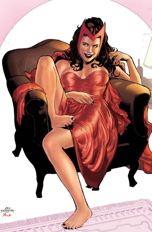 Scarlet Witch Color Version