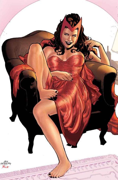 Scarlet Witch Color Version