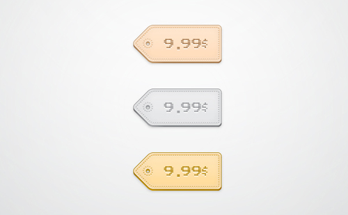 Quick Tip: How to Create a Simple Price Tag Icon